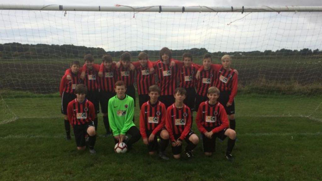 Fabs sponsors local football team