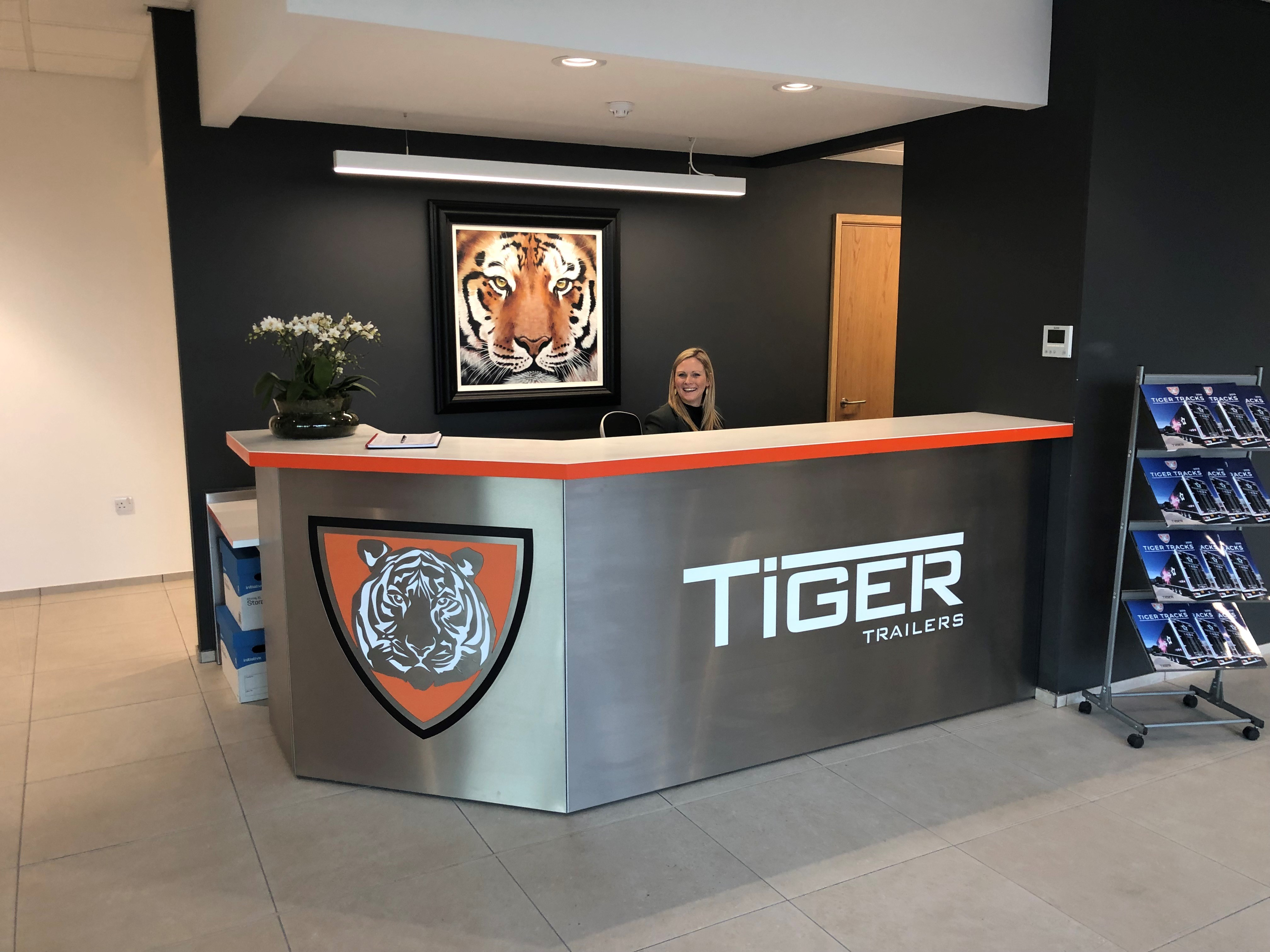 Project complete at Tiger Trailers