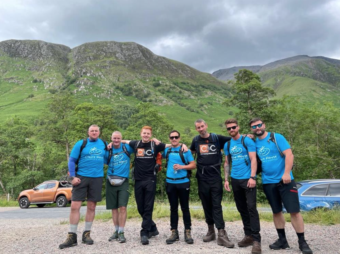 C&C Fabs completes Three Peaks Challenge for charity